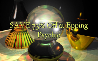 Gem 75% Off ved Epping Psychic