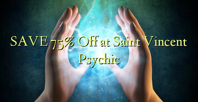 SAVE 75% Toa kwenye Saint Vincent Psychic