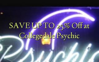 FINDA KWA 25% Pata kwenye Psychic ya Collegedale