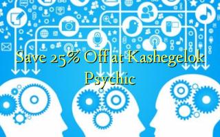 Gem 25% Off ved Kashegelok Psychic