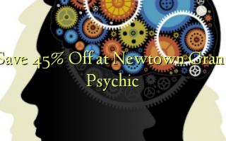 Hifadhi 45% Toka kwenye Newtown Grant Psychic