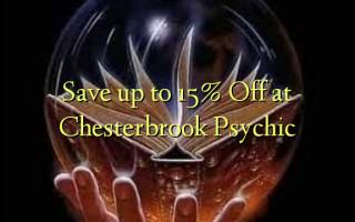 Hifadhi hadi 15% Toka kwenye Chesterbrook Psychic