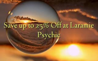 Hifadhi hadi 25% Toa kwenye Laramie Psychic