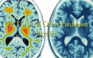 UP TO 20% Omba kwenye Piedmont Psychic