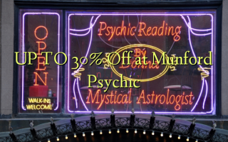 UP TO 30% Off i Munford Psychic