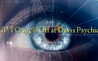 До 45% Off в Дэвисе Психическое