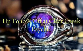 Op til 10% Off ved Clear Creek Psychic