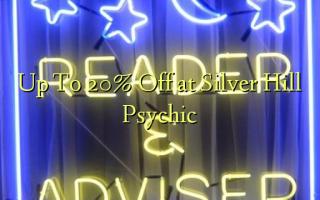 Скидка до 20 на Silver Hill Psychic