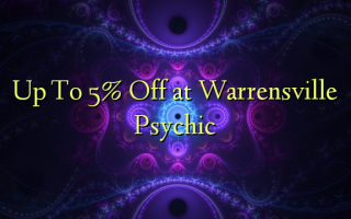 Up To 5% Off at Warrensville Psychic