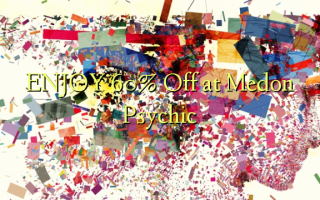 ENJOY 60% Off at Medon Psychic