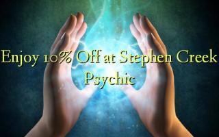 Nyd 10% Off på Stephen Creek Psychic