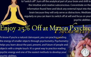 Nyd 25% Off ved Mazon Psychic