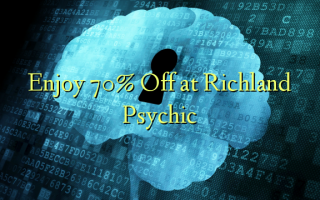 Enjoy 70% Off at Richland Psychic