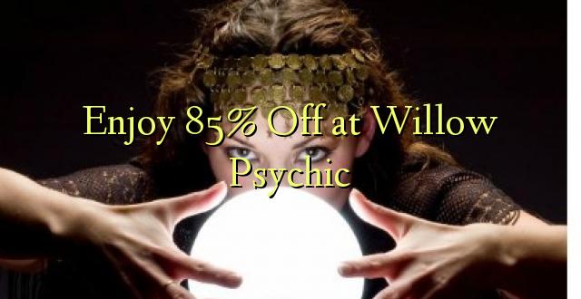Geniet van 85% korting op Willow Psychic
