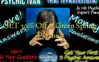 GET 30% Off på Green Spring Psychic