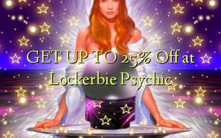 KRIJG TOT 25% korting bij Lockerbie Psychic