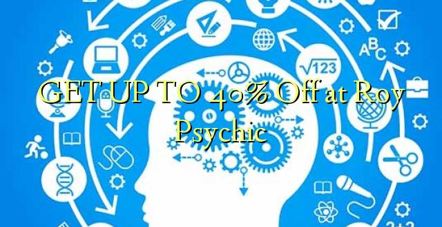 GETULU I 40% Off i Roy Psychic