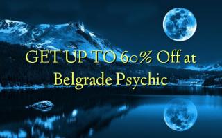 KRIJG TOT 60% korting bij Belgrado Psychic