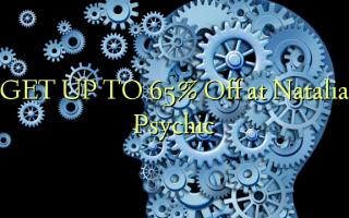 FÅ OP TIL 65% Off på Natalia Psychic