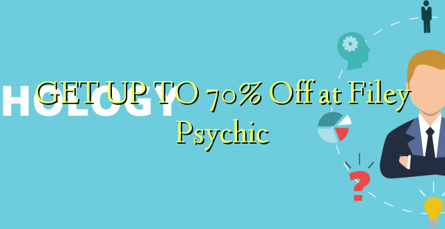 GET UP TO 70% Off at Filey Psychic