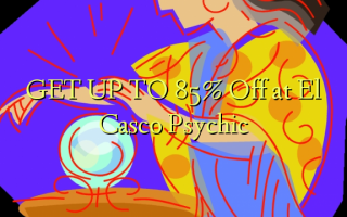 ONTVANG TOT 85% korting bij El Casco Psychic