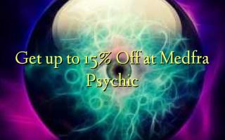 Få op til 15% Off på Medfra Psychic