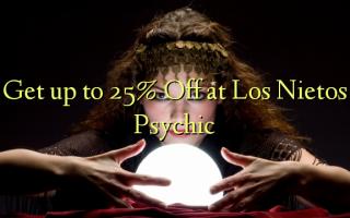Få op til 25% Off på Los Nietos Psychic