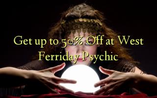 Få op til 50% Off på West Ferriday Psychic