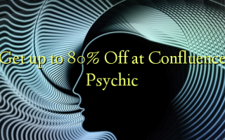 Få op til 80% Off på Confluence Psychic