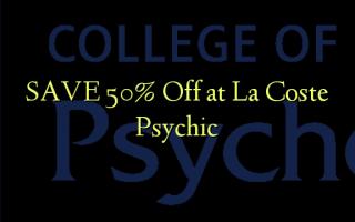 Gem 50% Off ved La Coste Psychic