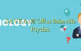 Gem 60% Off ved Balmville Psychic