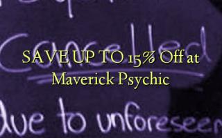 SPAR OP TIL 15% Off ved Maverick Psychic