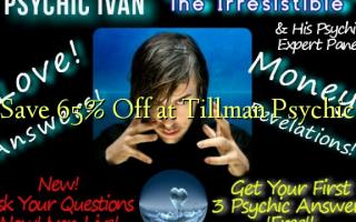 Gem 65% Off ved Tillman Psychic