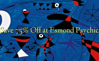 Save 75% Off i Esmond Psychic