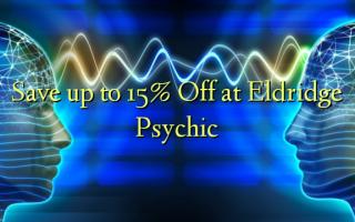 Eldridge အကြားအမြင်ရမှာဟာ Off 15% အထိ Save