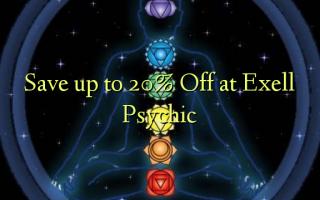 Bespaar tot 20% korting bij Exell Psychic