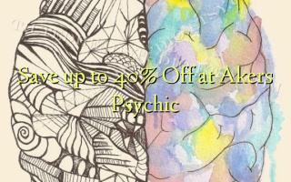 Gem op til 40% Off ved Akers Psychic