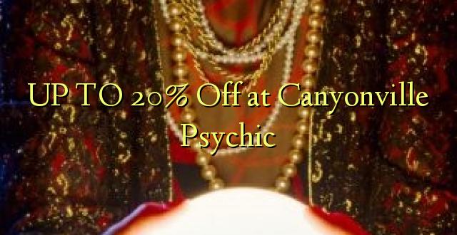 OP TIL 20% Off på Canyonville Psychic