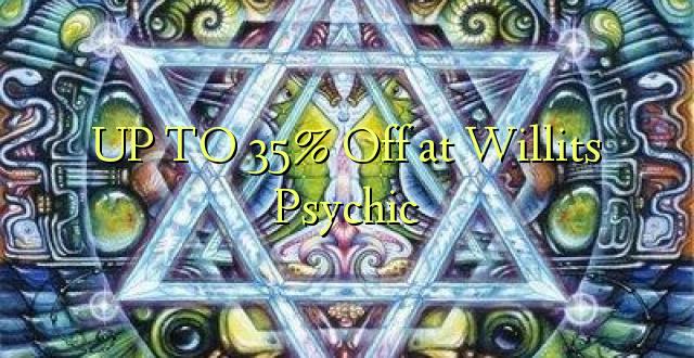 TOT 35% korting bij Willits Psychic