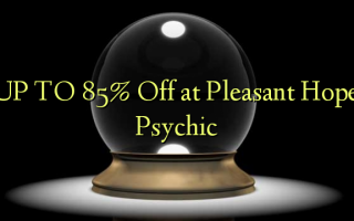 TOT 85% korting bij Pleasant Hope Psychic