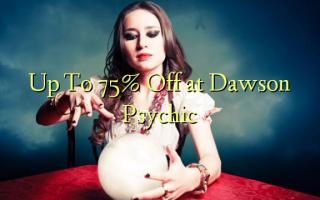 Up To 75% Off i Dawson Psychic