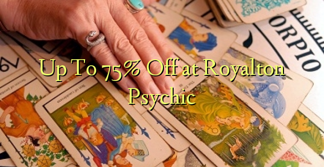 Tot 75% korting bij Royalton Psychic