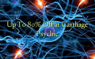 Tot 80% korting bij Carthage Psychic