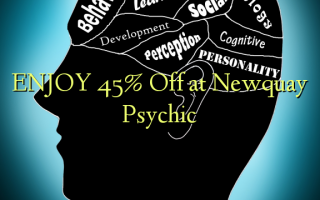 Nyd 45% Off på Newquay Psychic