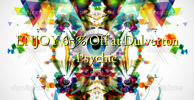 ENJOY 65% Off at Dulverton Psychic