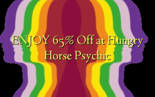 ENJOY 65% Off at Hungry Horse Psychic