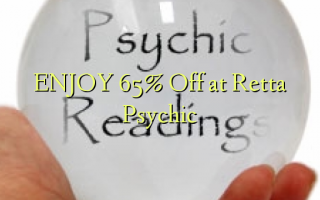 ENJOY 65% Off at Retta Psychic