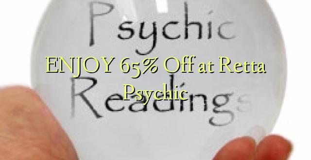 ENJOY 65% Off at Retta Psychic
