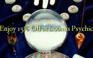 Nyd 15% Off ved Loomis Psychic