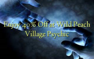 Enjoy 40% Off at Wild Peach Village Psychic
